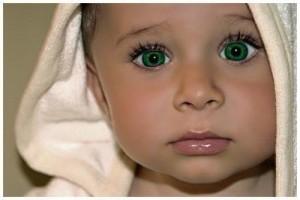 Zöld szemű gyémánt